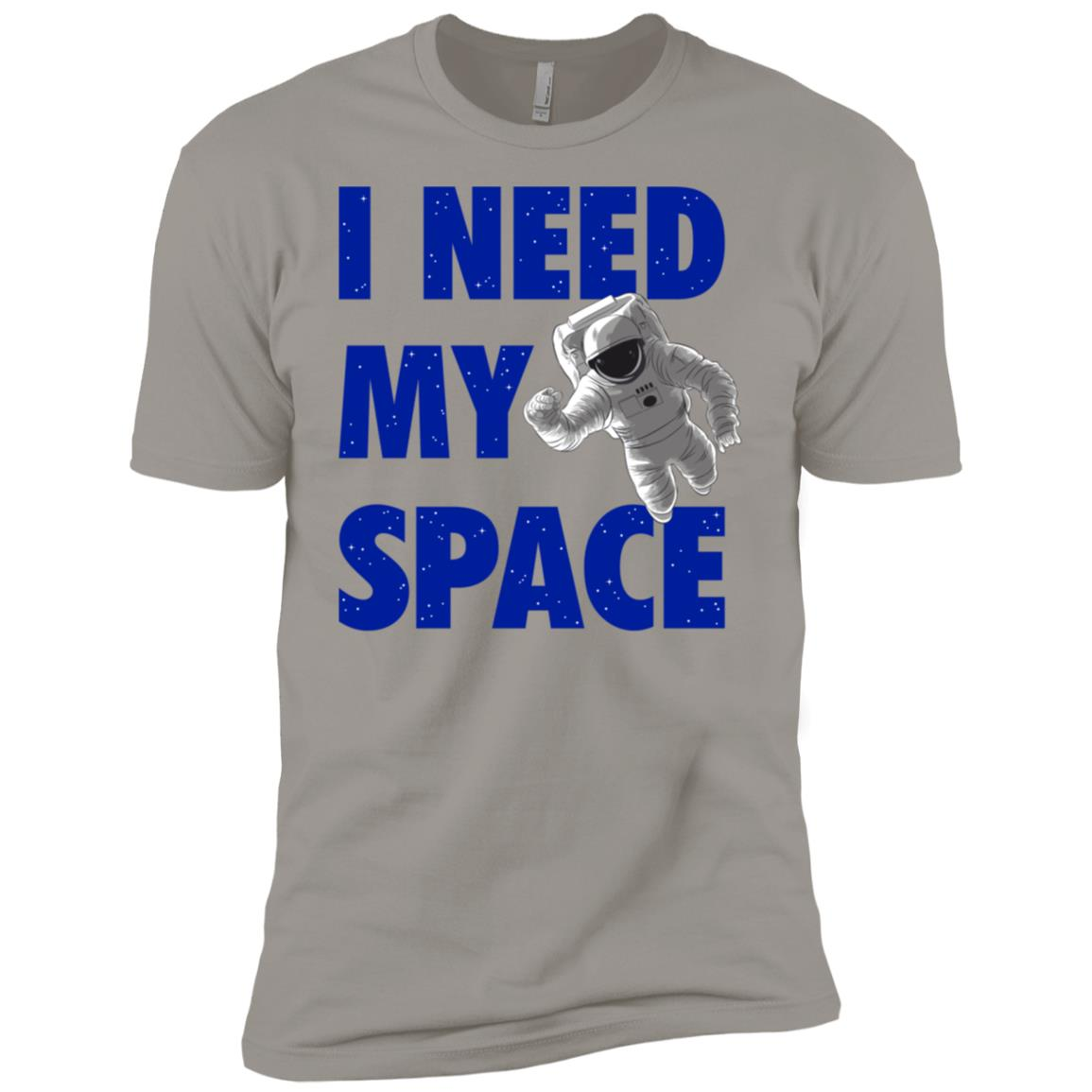 Funny I Need Space Astronaut Galaxy Science Nerd Gift Men Short Sleeve T-Shirt