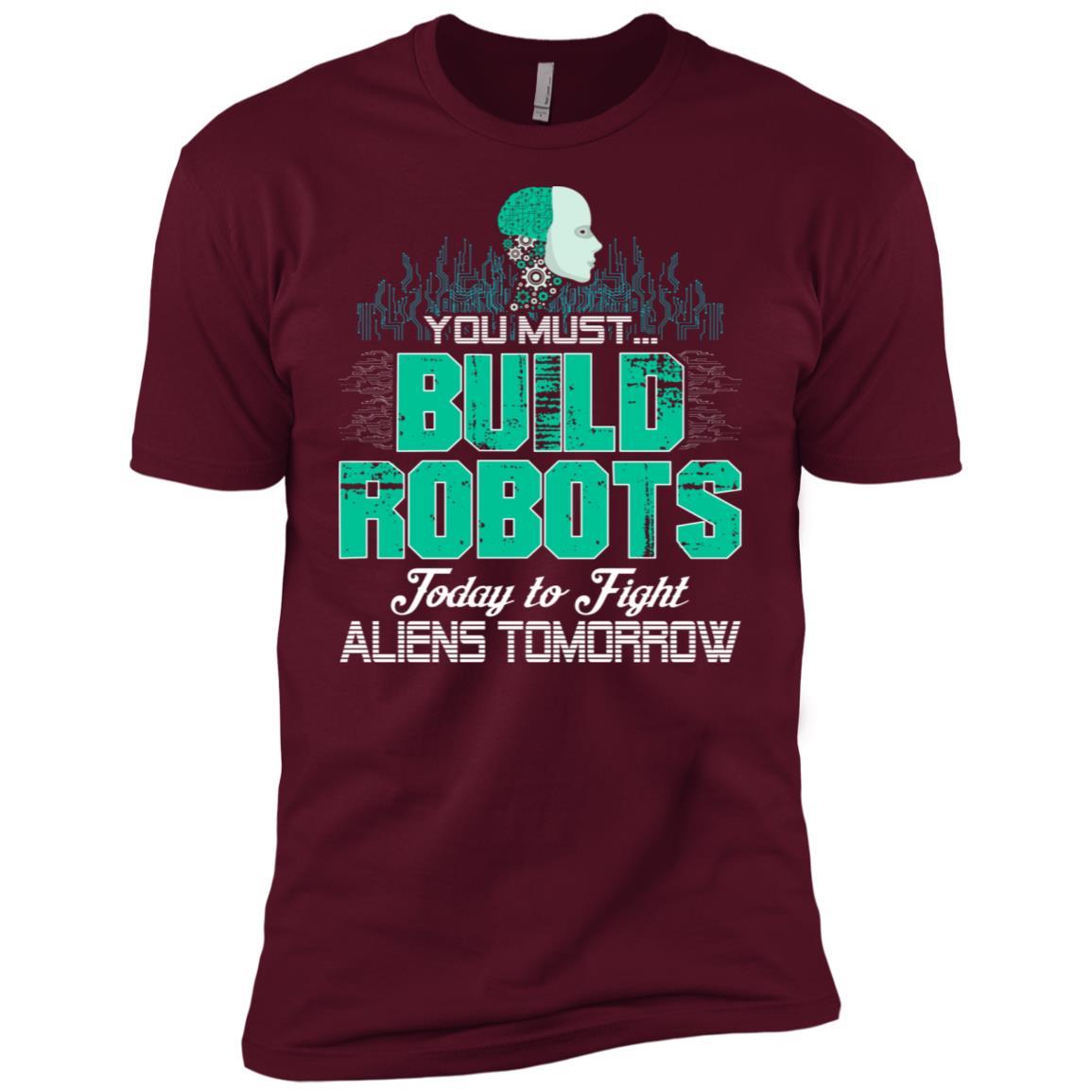 Funny Robotics Gift Men Short Sleeve T-Shirt