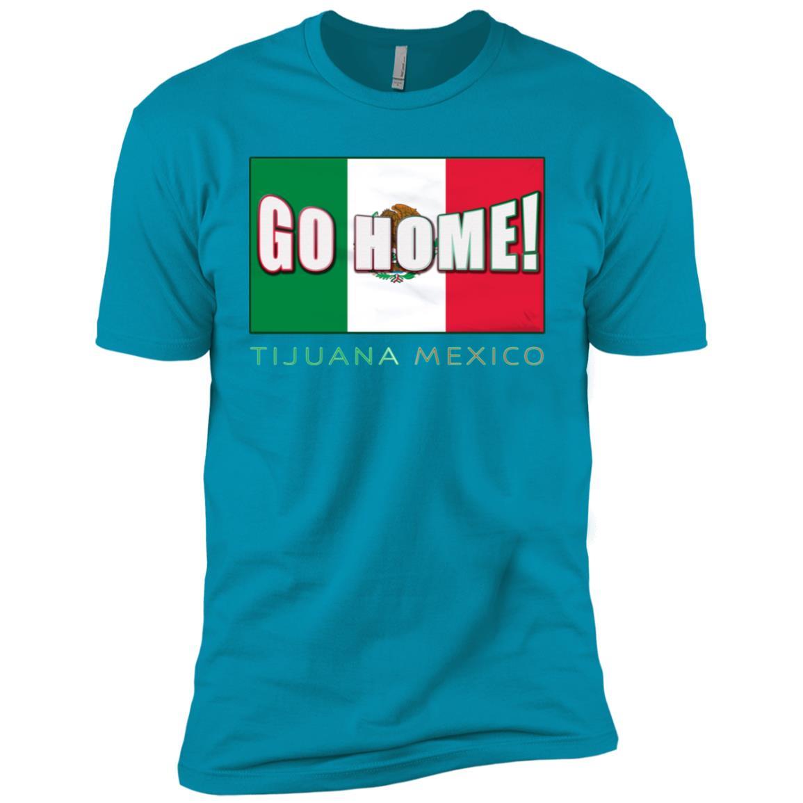 Make Tijuana Mexico Great Again Funny Gift Idea -1 Men Short Sleeve T-Shirt