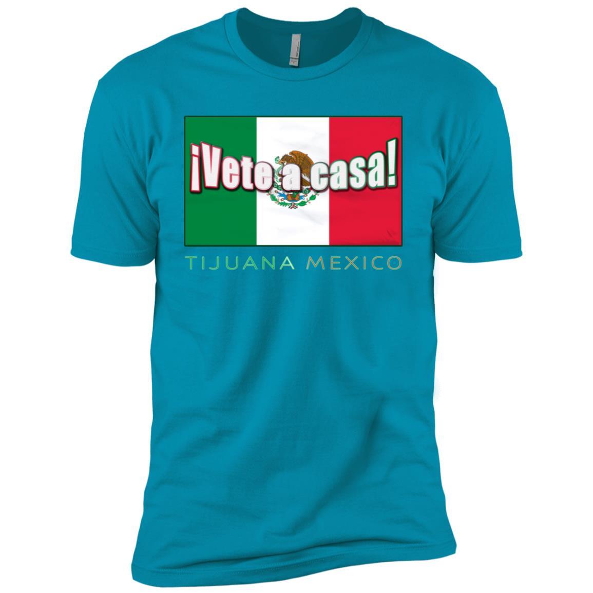 Make Tijuana Mexico Great Again Funny Gift Idea Men Short Sleeve T-Shirt
