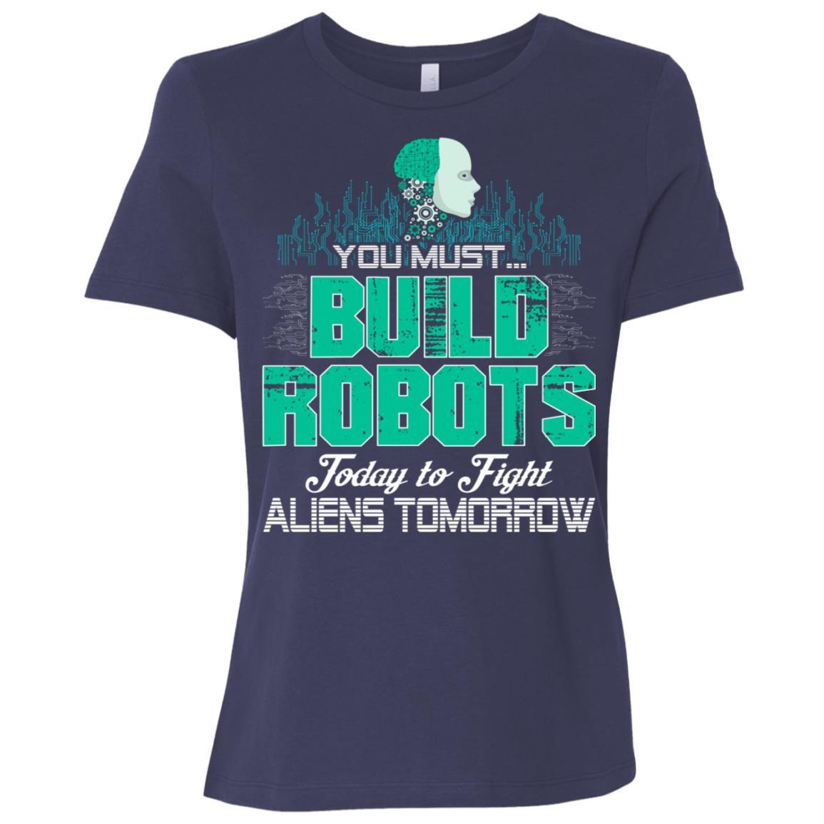 Funny Robotics Gift Women Short Sleeve T-Shirt