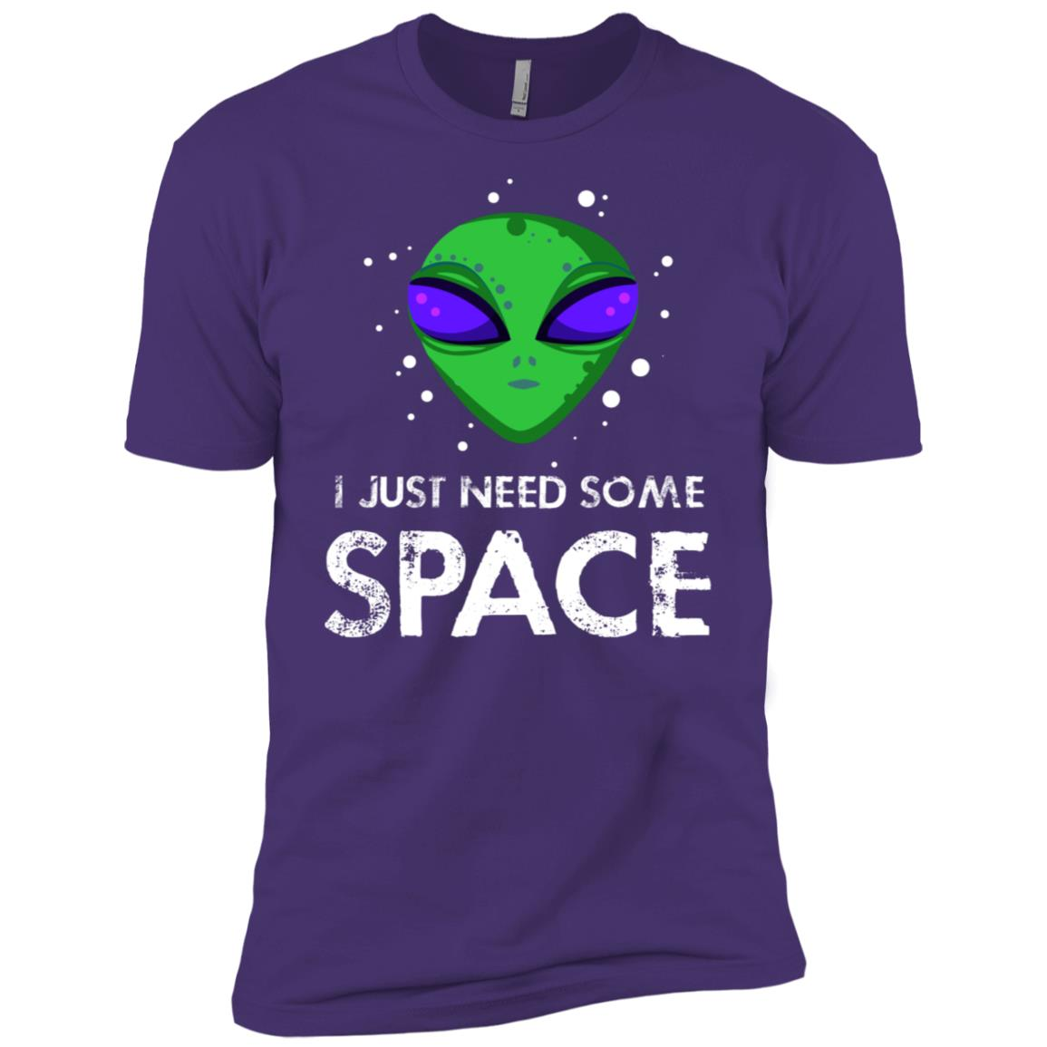 Science Fiction Alien Need Some Space Men Short Sleeve T-Shirt