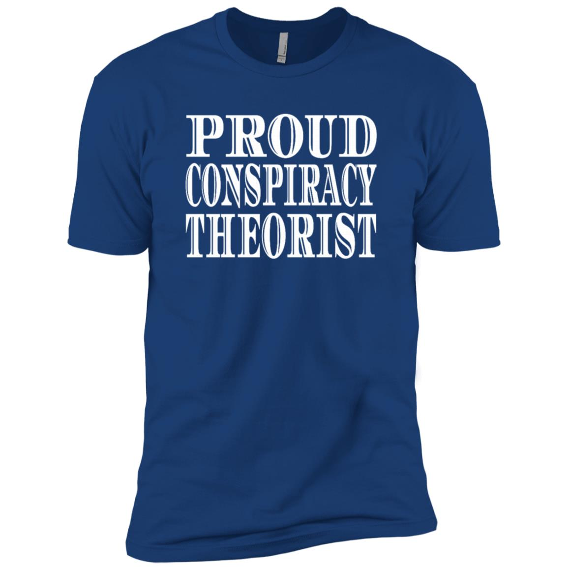 Proud Red Pill Funny Quote Conspiracy Theorist Men Short Sleeve T-Shirt