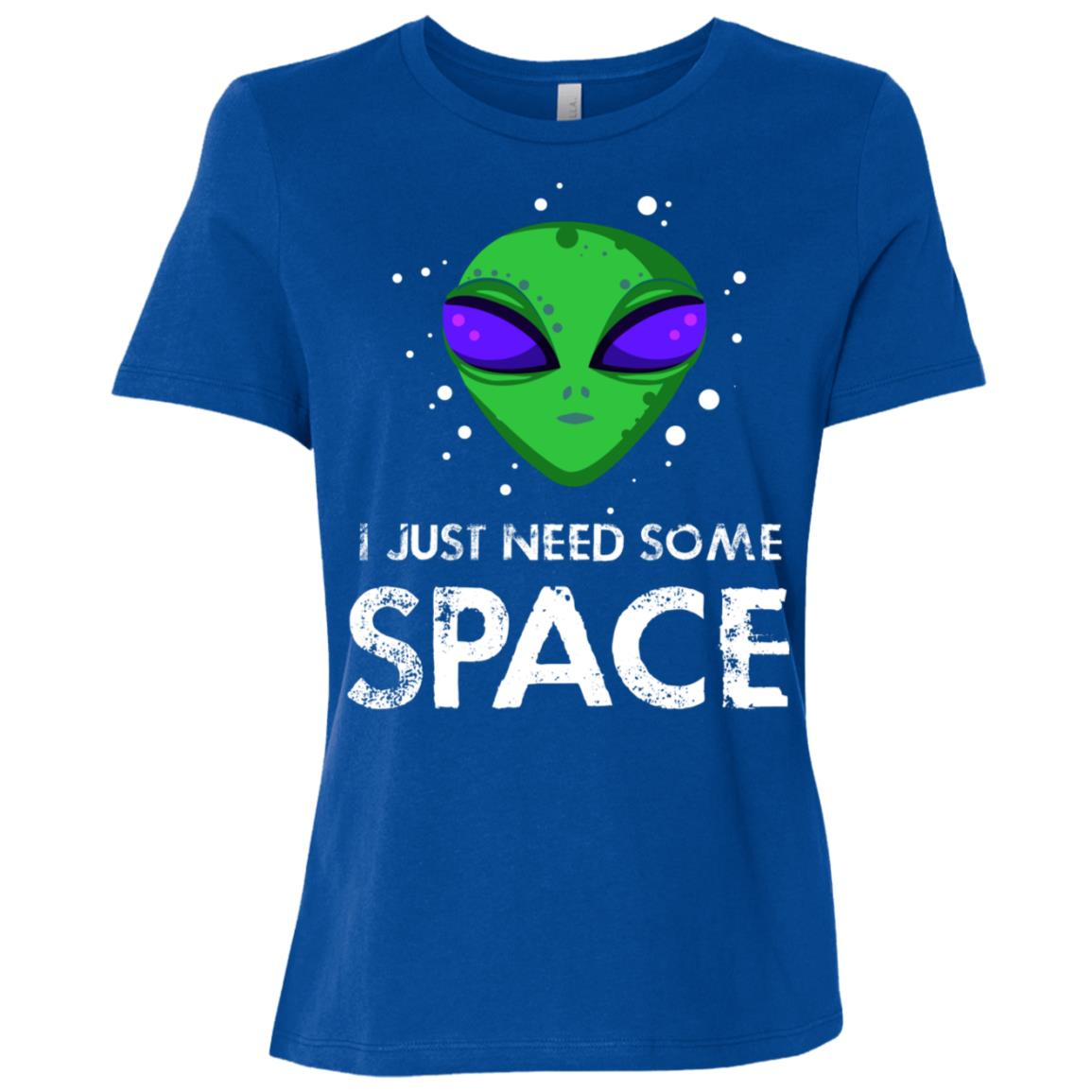 Science Fiction Alien Need Some Space Women Short Sleeve T-Shirt