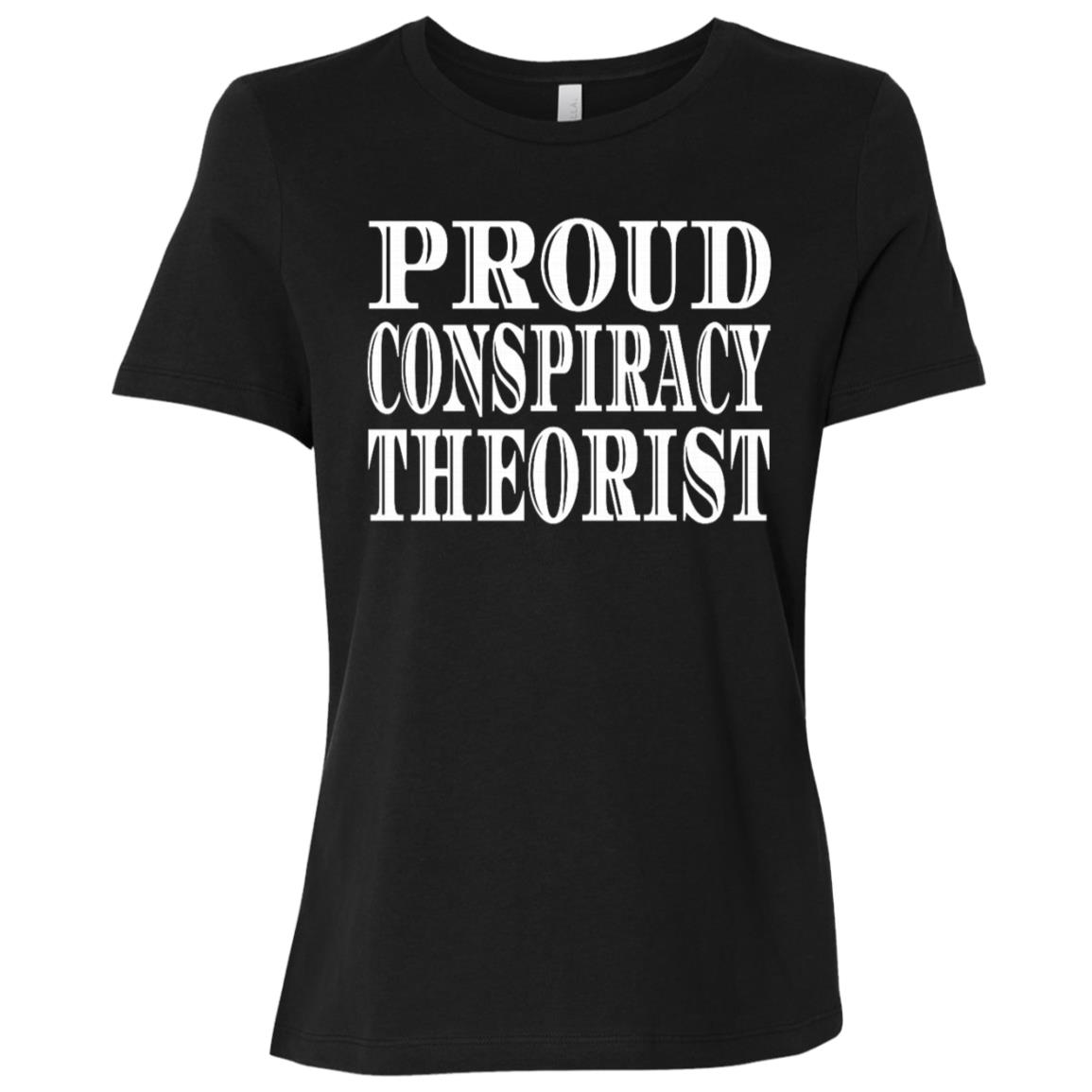Proud Red Pill Funny Quote Conspiracy Theorist Women Short Sleeve T-Shirt
