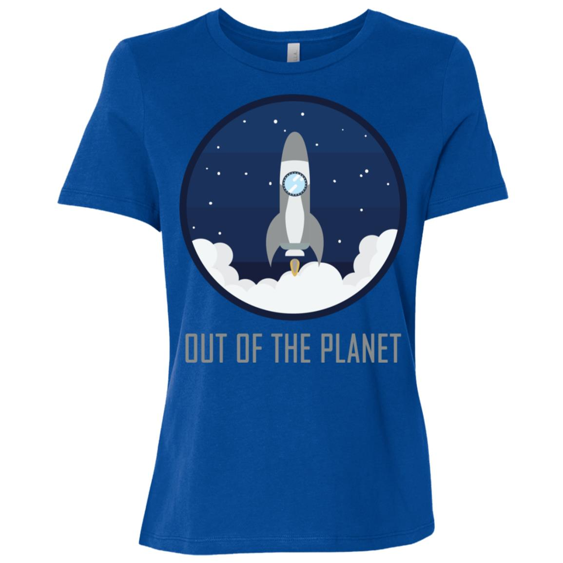 Out of the Planet Space Gift Women Short Sleeve T-Shirt