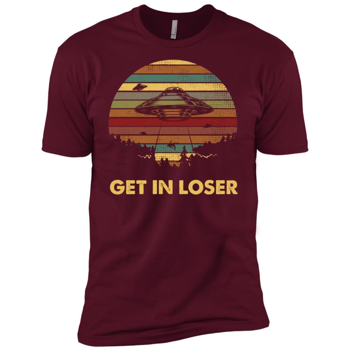 get in loser vintage Men Short Sleeve T-Shirt