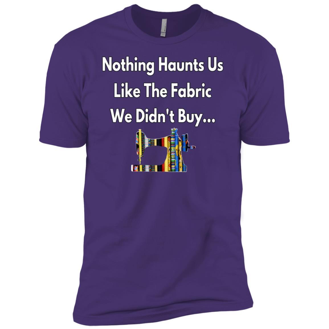 Addicted To Buying Fabrics Funny Sew Seamstress Gift Men Short Sleeve T-Shirt