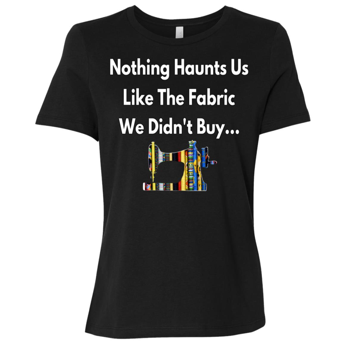 Addicted To Buying Fabrics Funny Sew Seamstress Gift Women Short Sleeve T-Shirt