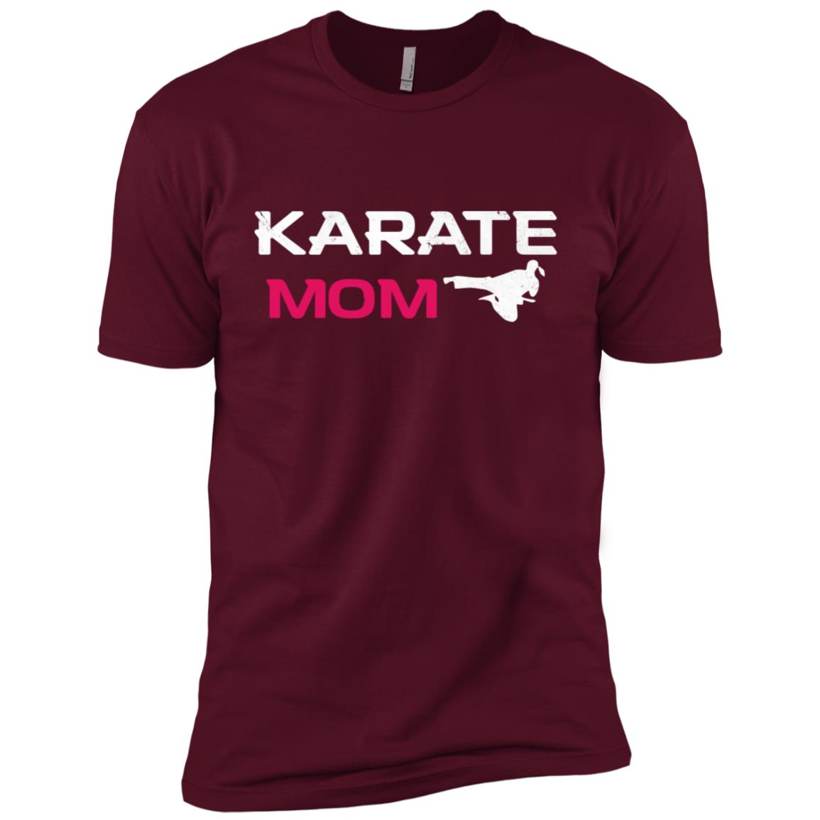 Awesome Karate Mom Martial Arts Men Short Sleeve T-Shirt
