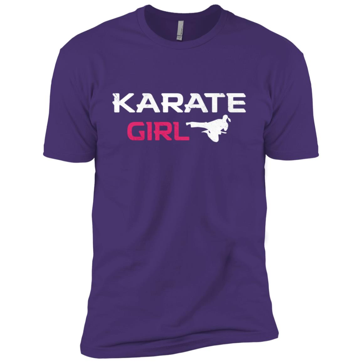 Awesome Karate Girl Martial Arts Men Short Sleeve T-Shirt