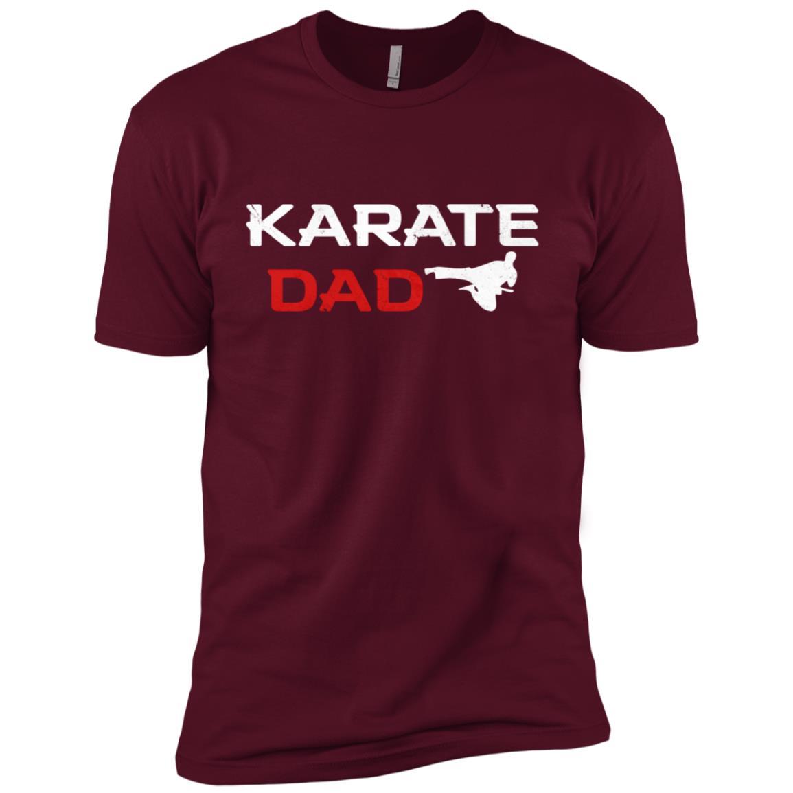 Awesome Karate Dad Martial Arts Men Short Sleeve T-Shirt