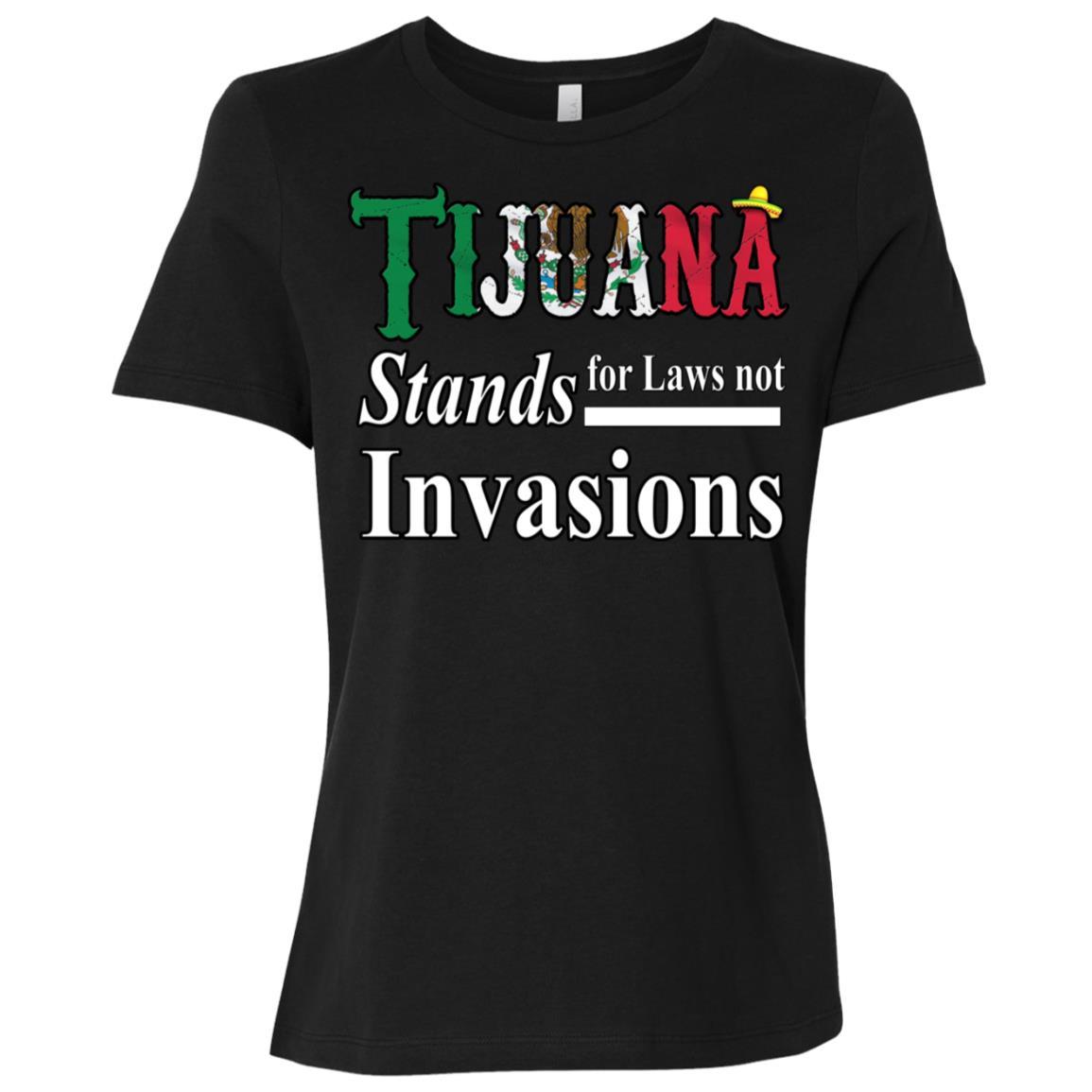 Make Tijuana Mexico Great Again Funny Gift Idea s-1 Women Short Sleeve T-Shirt