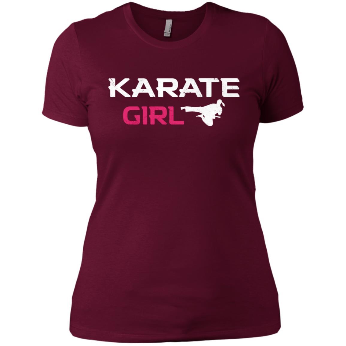 Awesome Karate Girl Martial Arts Women Short Sleeve T-Shirt