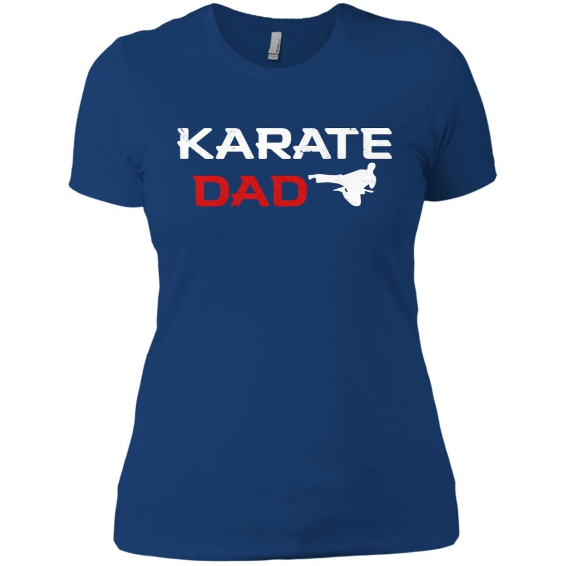 Awesome Karate Dad Martial Arts Women Short Sleeve T-Shirt