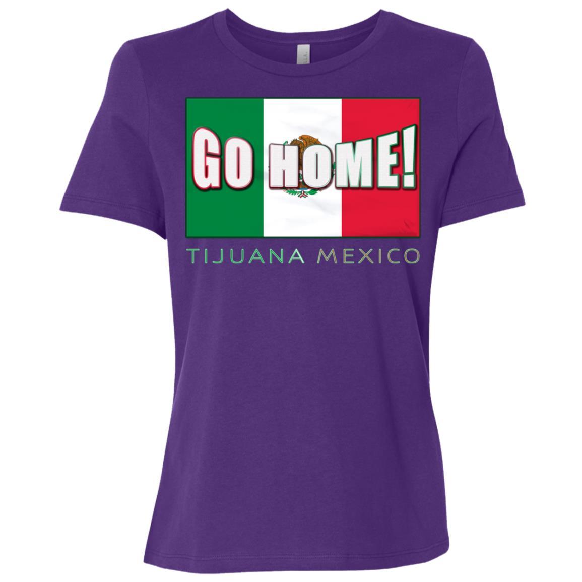 Make Tijuana Mexico Great Again Funny Gift Idea -1 Women Short Sleeve T-Shirt