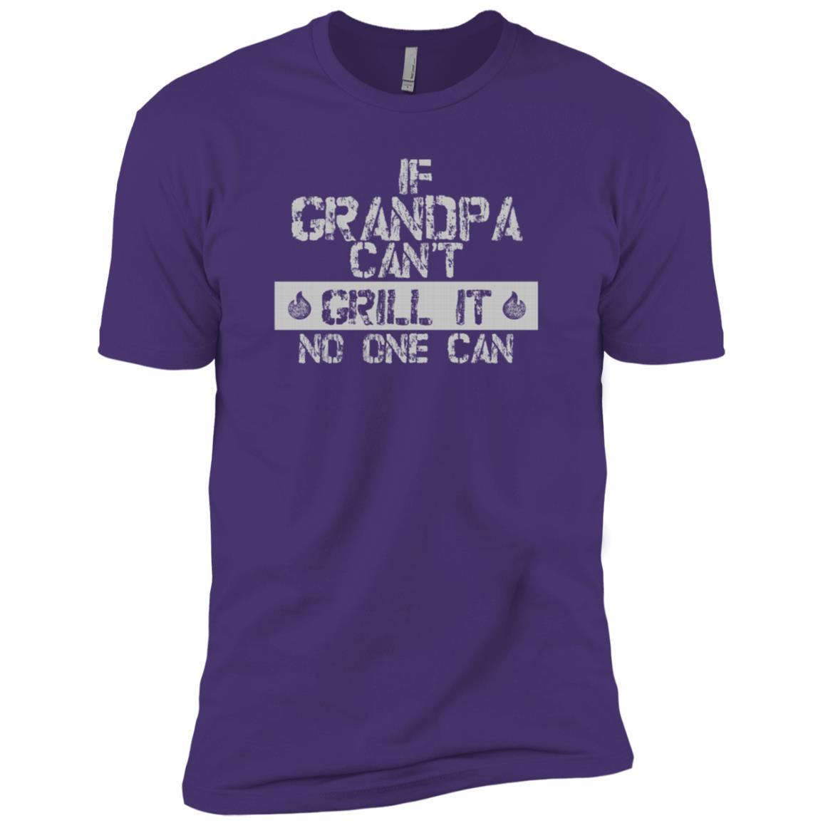 Back Print Grandpa Bbqs Funny Grilling Gift-8 Men Short Sleeve T-Shirt