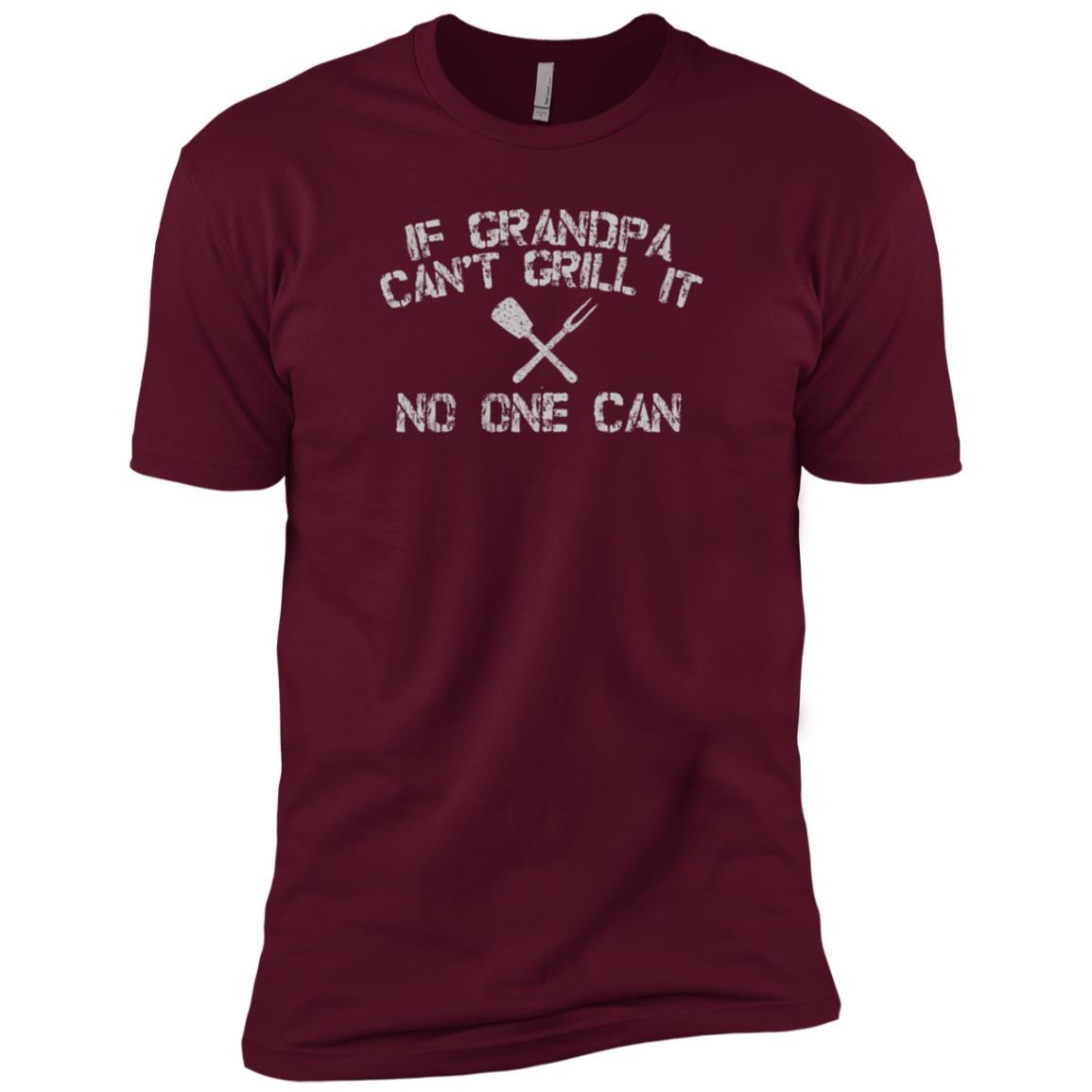 Back Print Grandpa Bbqs Funny Grilling Gift-7 Men Short Sleeve T-Shirt