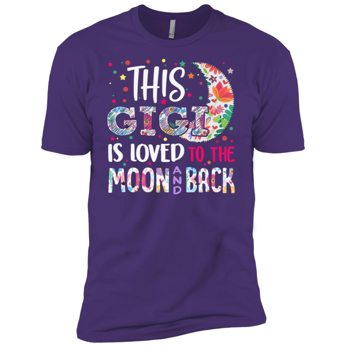 This Gigi is loved to the moon and back Men Short Sleeve T-Shirt