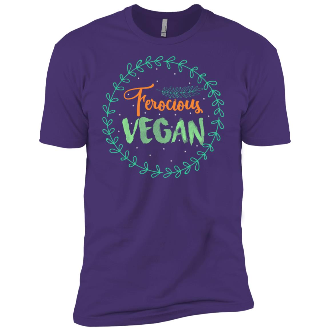 Funny Ferocious Vegan Life s Gift Ideas Men Women Kid Men Short Sleeve T-Shirt