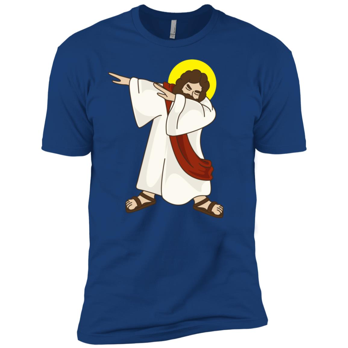 Funny Dabbing Jesus Christ – Birthday Present For You Men Short Sleeve T-Shirt