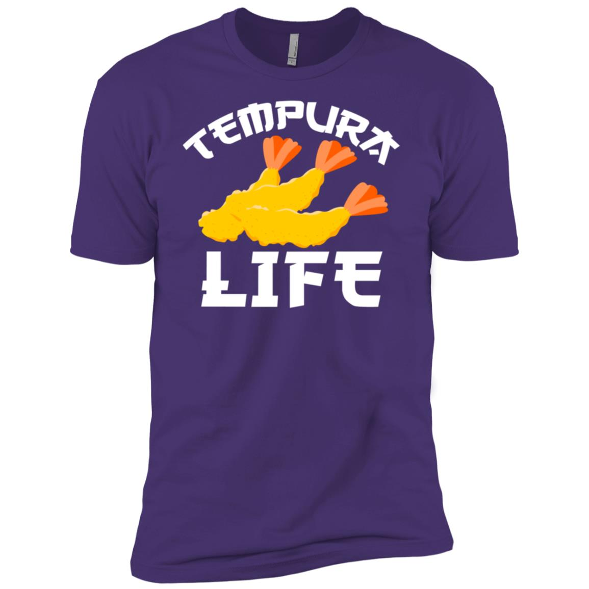 Tempura Anime Japanese Food Tempura Men Short Sleeve T-Shirt