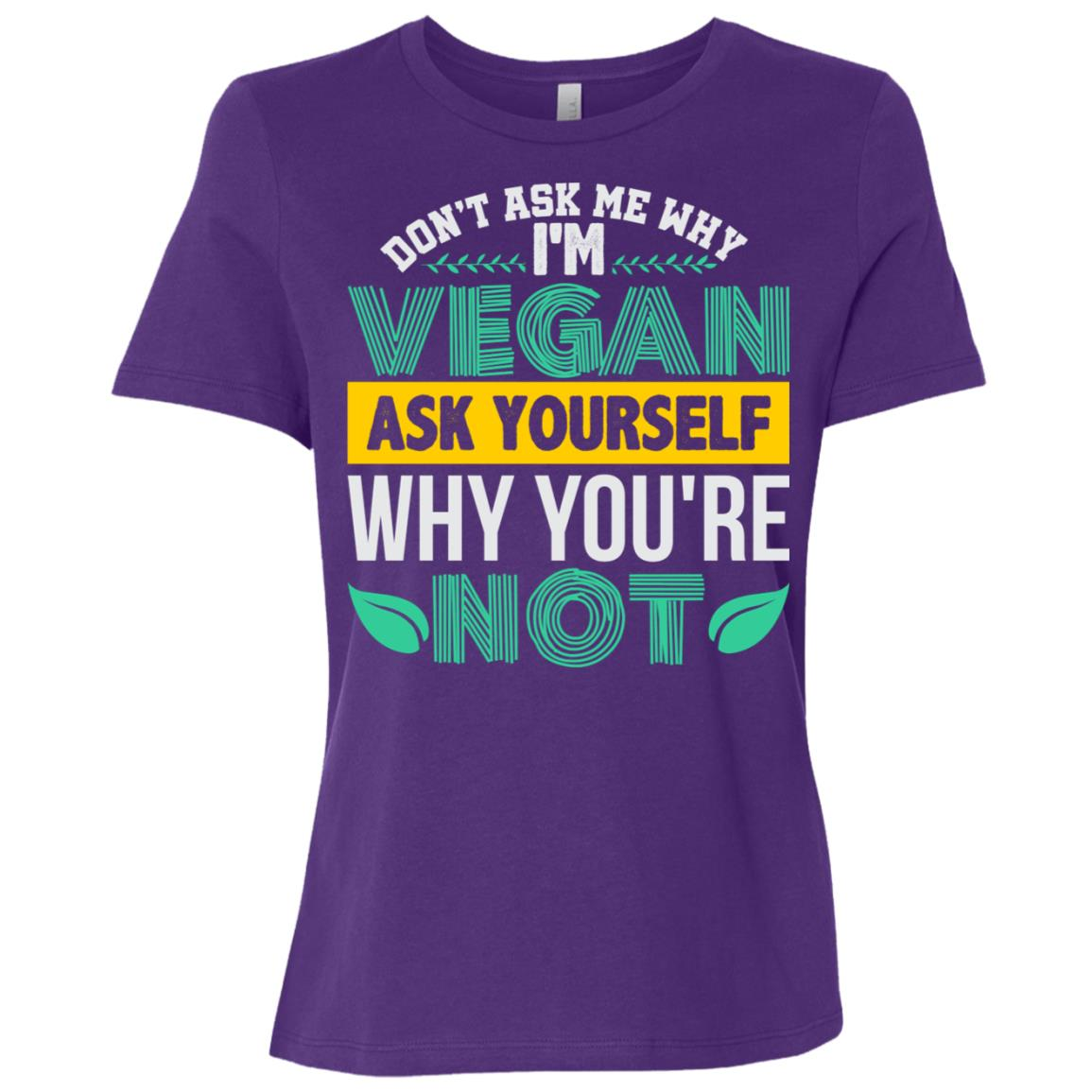 Funny Vegan Vegetarian Gifts For Men Women Women Short Sleeve T-Shirt