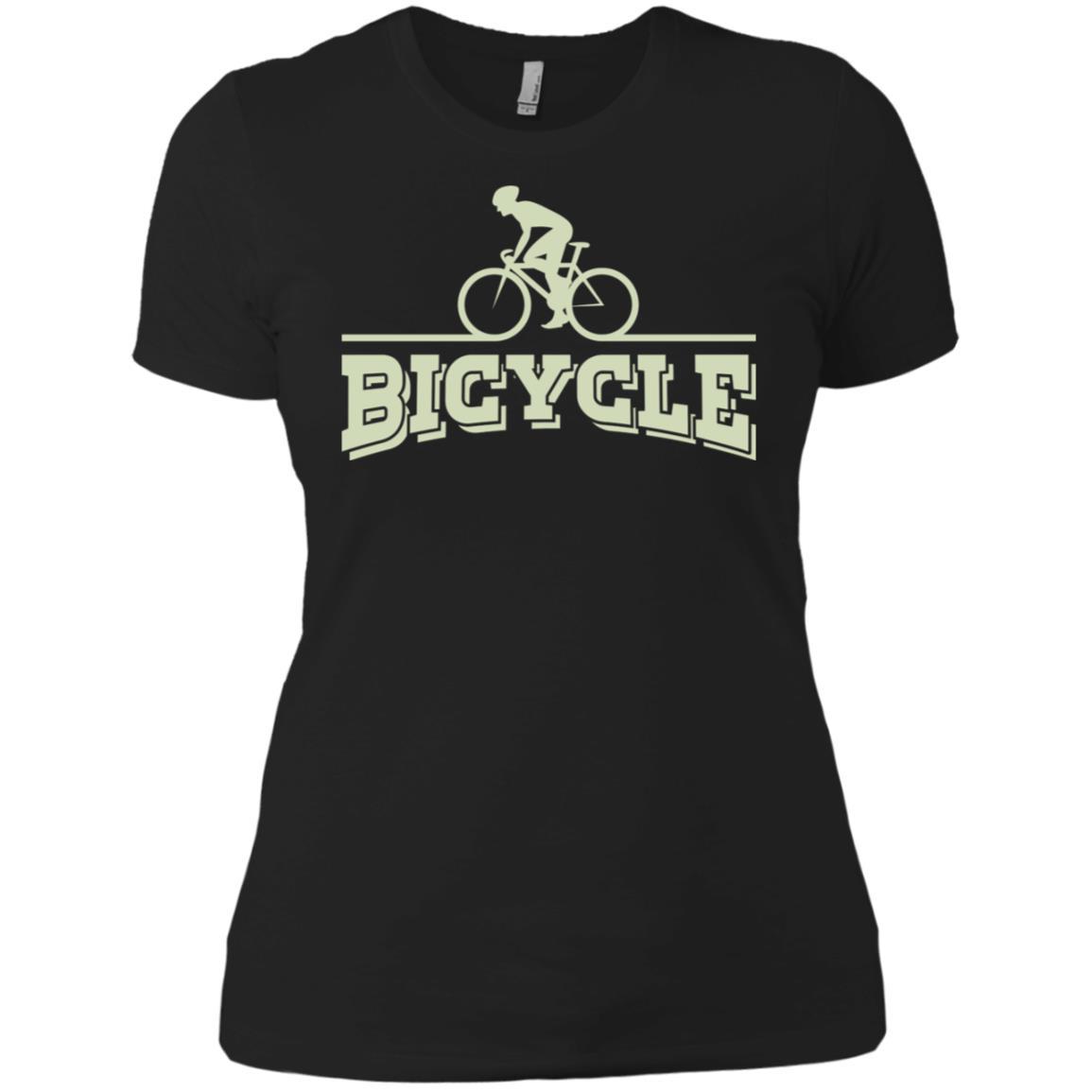 Bicycle Biking Lover Best Bike Rider Gift Women Short Sleeve