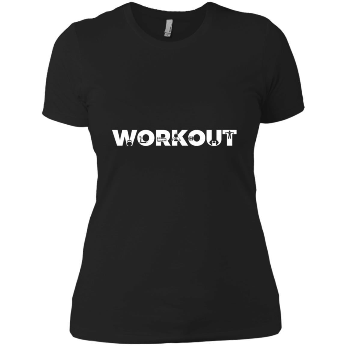 Workout Lifting Dumbbells Treadmill Training Women Short Sleeve