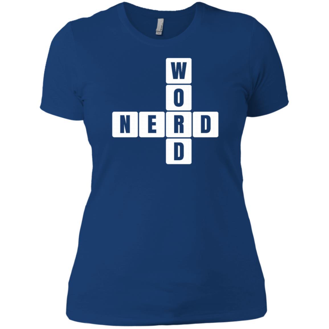 Word Puzzle, Crossword Puzzle Gift Word Nerd Women Short Sleeve