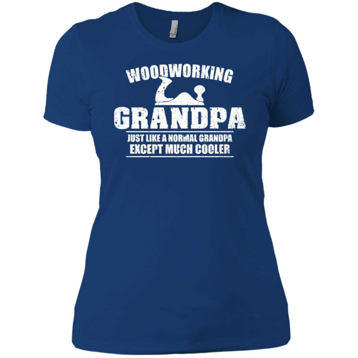 Woodworking Grandpa Funny Dad Father's Day Gift Men Women Short Sleeve