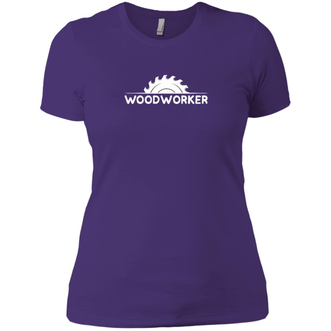 Woodworking for any Woodworker Women Short Sleeve