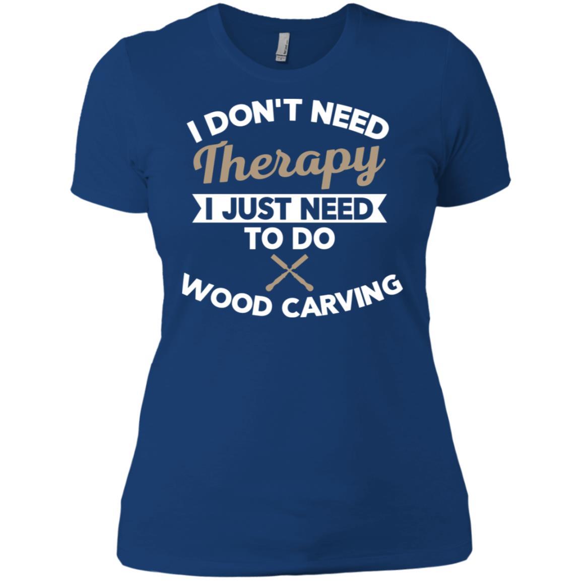 Wood Carving Gift for Carpenter Women Short Sleeve