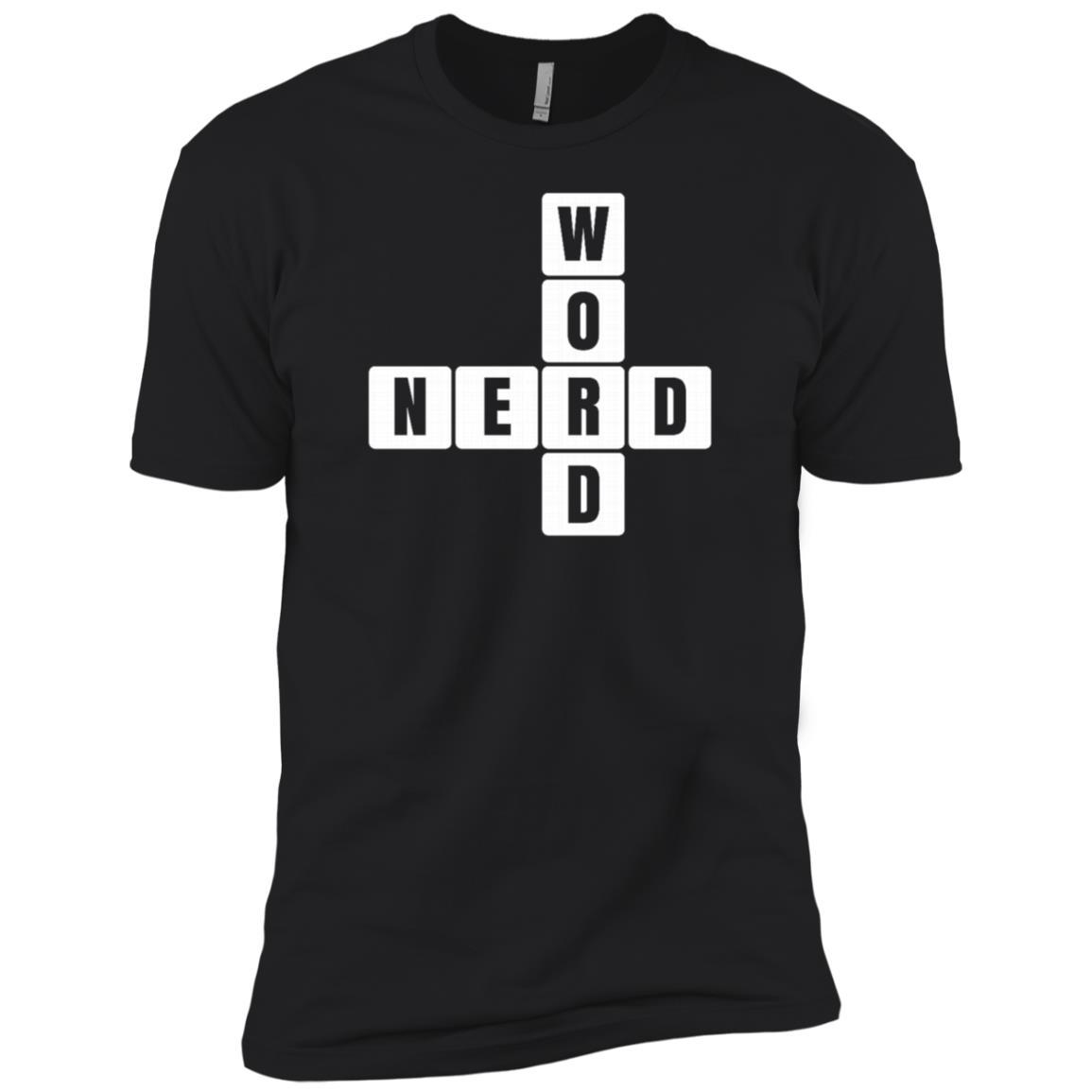 Word Puzzle, Crossword Puzzle Gift Word Nerd Men Short Sleeve