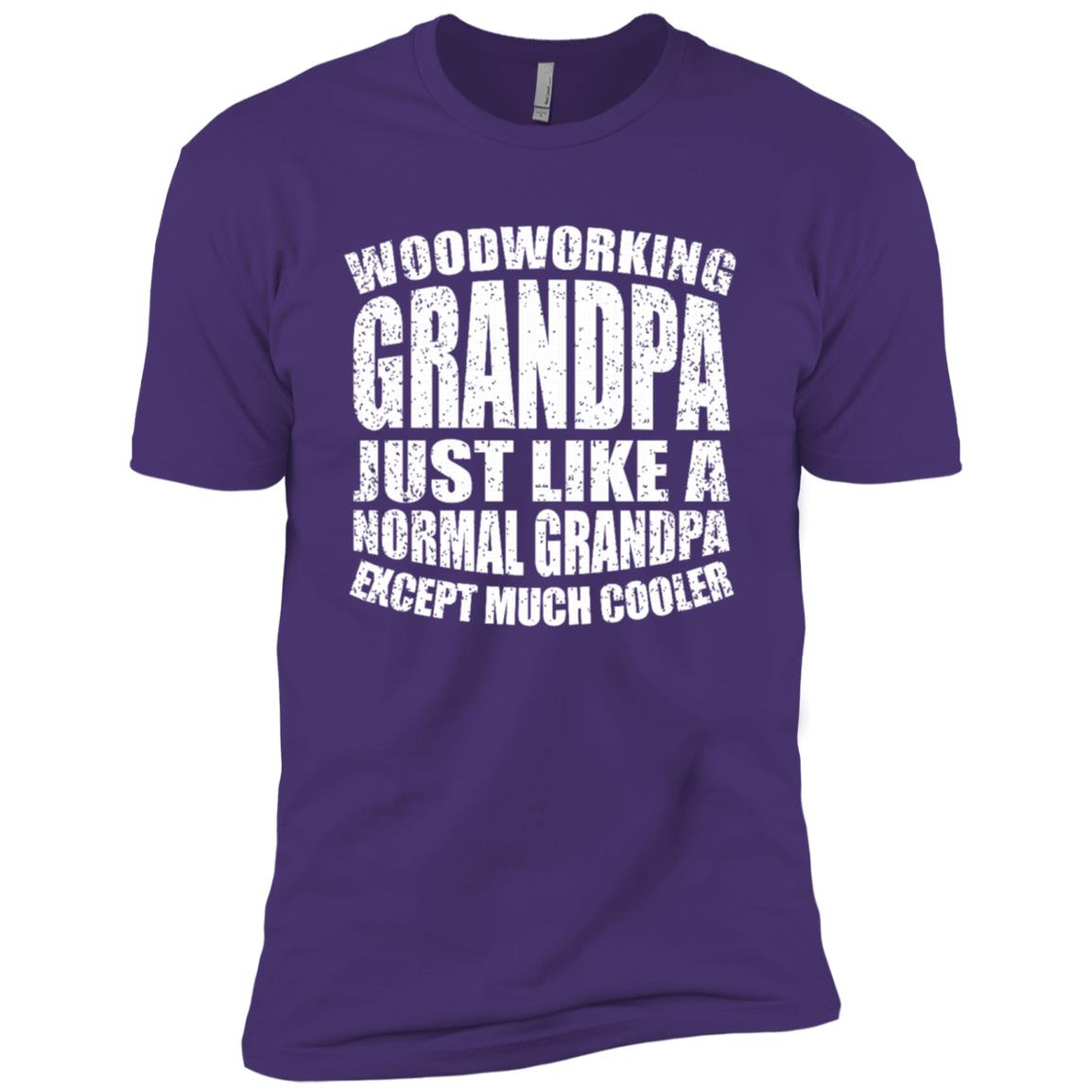 Woodworking Grandpa Funny Dad Father's Day Gift Men-1 Men Short Sleeve