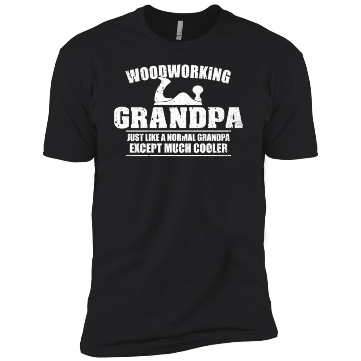 Woodworking Grandpa Funny Dad Father's Day Gift Men Men Short Sleeve