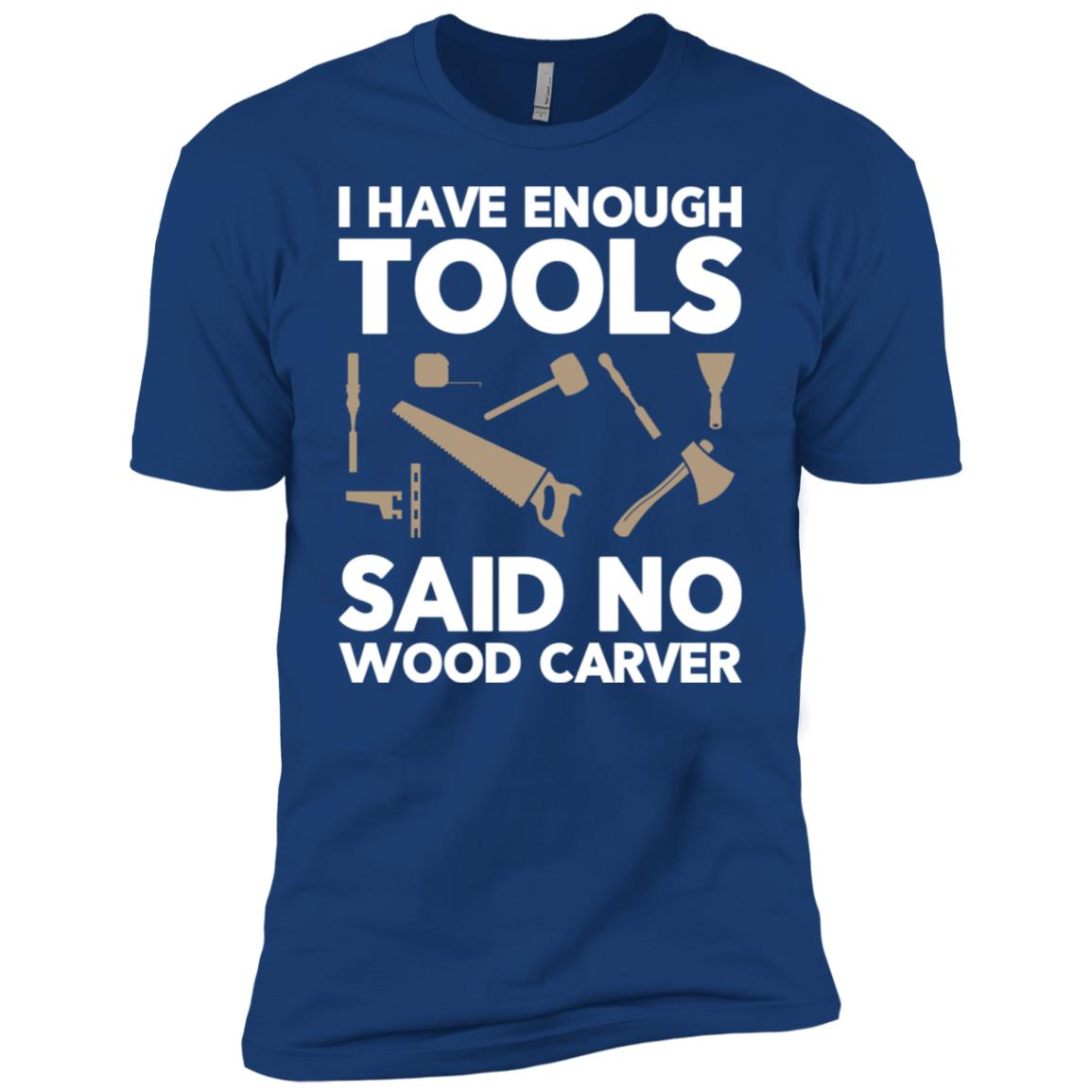 Wood Carving Woodworking -3 Men Short Sleeve