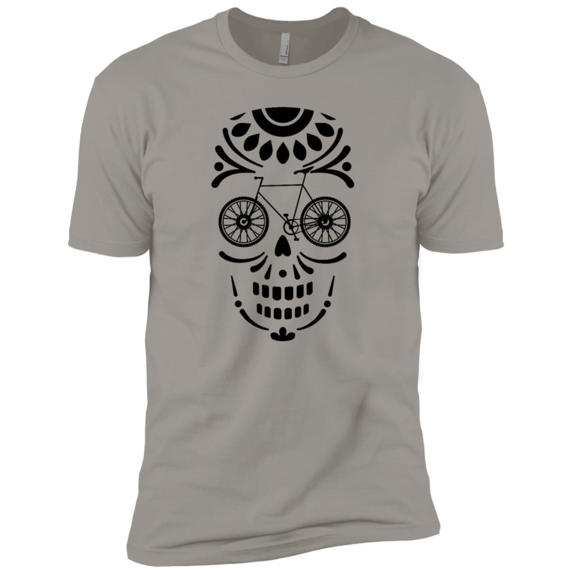 Bicycle In A Dust Mask Original Gift For Bikers Men Short Sleeve