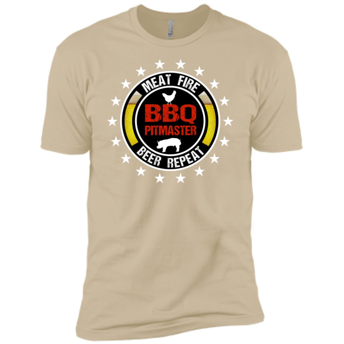 Bbq Pitmaster Cool Smoker Griller Gift Men Short Sleeve