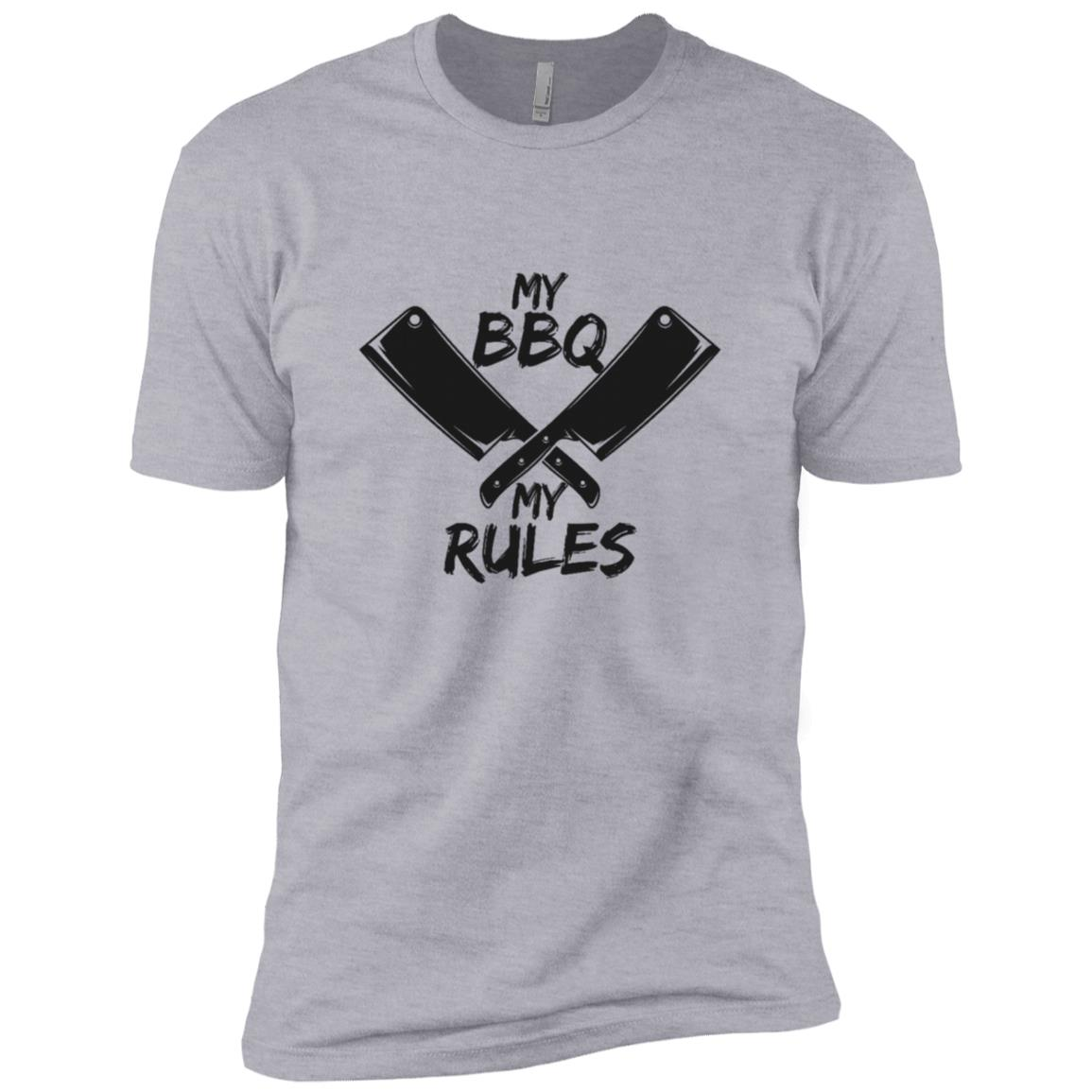 Bbq Chef Knives Chef Cook Funny Barbecue Gift-1 Men Short Sleeve