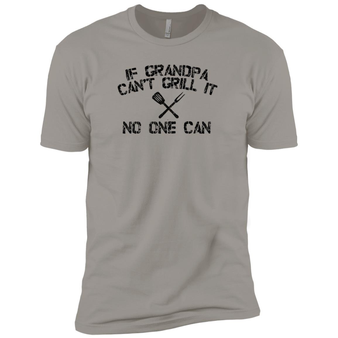 Back Print Grandpa Bbqs Funny Grilling Gift-10 Men Short Sleeve