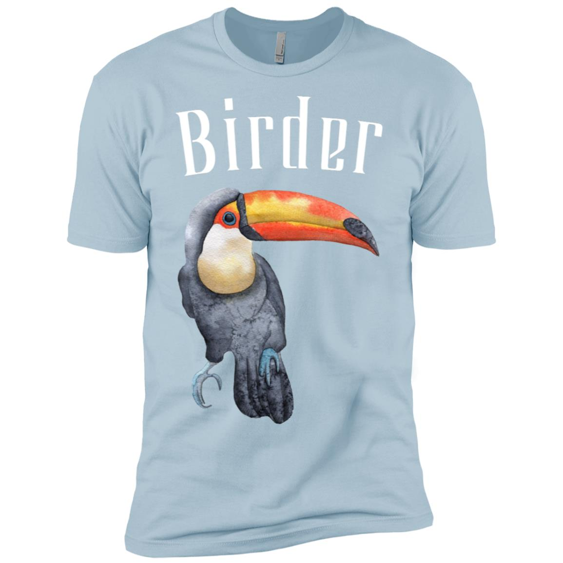 Birder Bird Watcher Men Short Sleeve