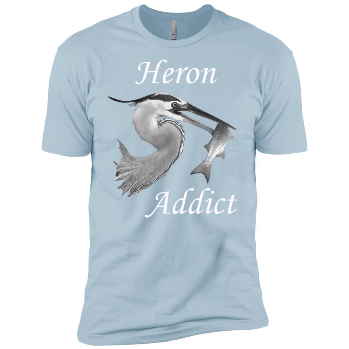 Bird. Heron addict Men Short Sleeve
