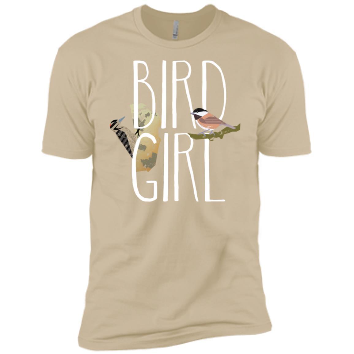Bird Girl Bird Watching Gift For Women Twitchers Men Short Sleeve