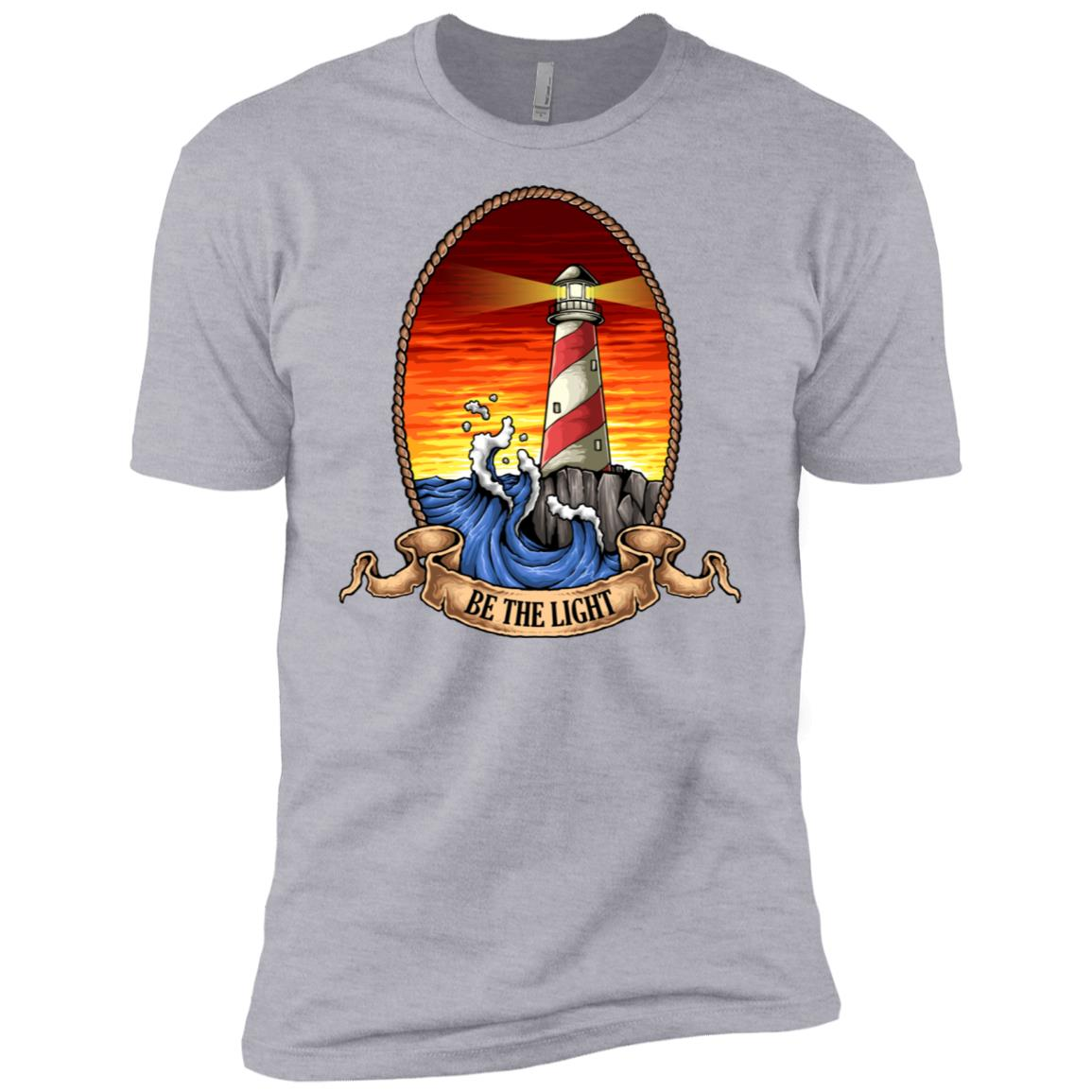 Be The Light of Hope Lighthouse Help Others See Men Short Sleeve