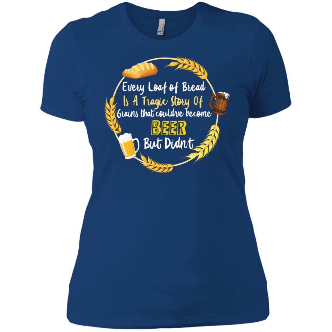 Beer Drinking for Women & Men Home Brewing Women Short Sleeve
