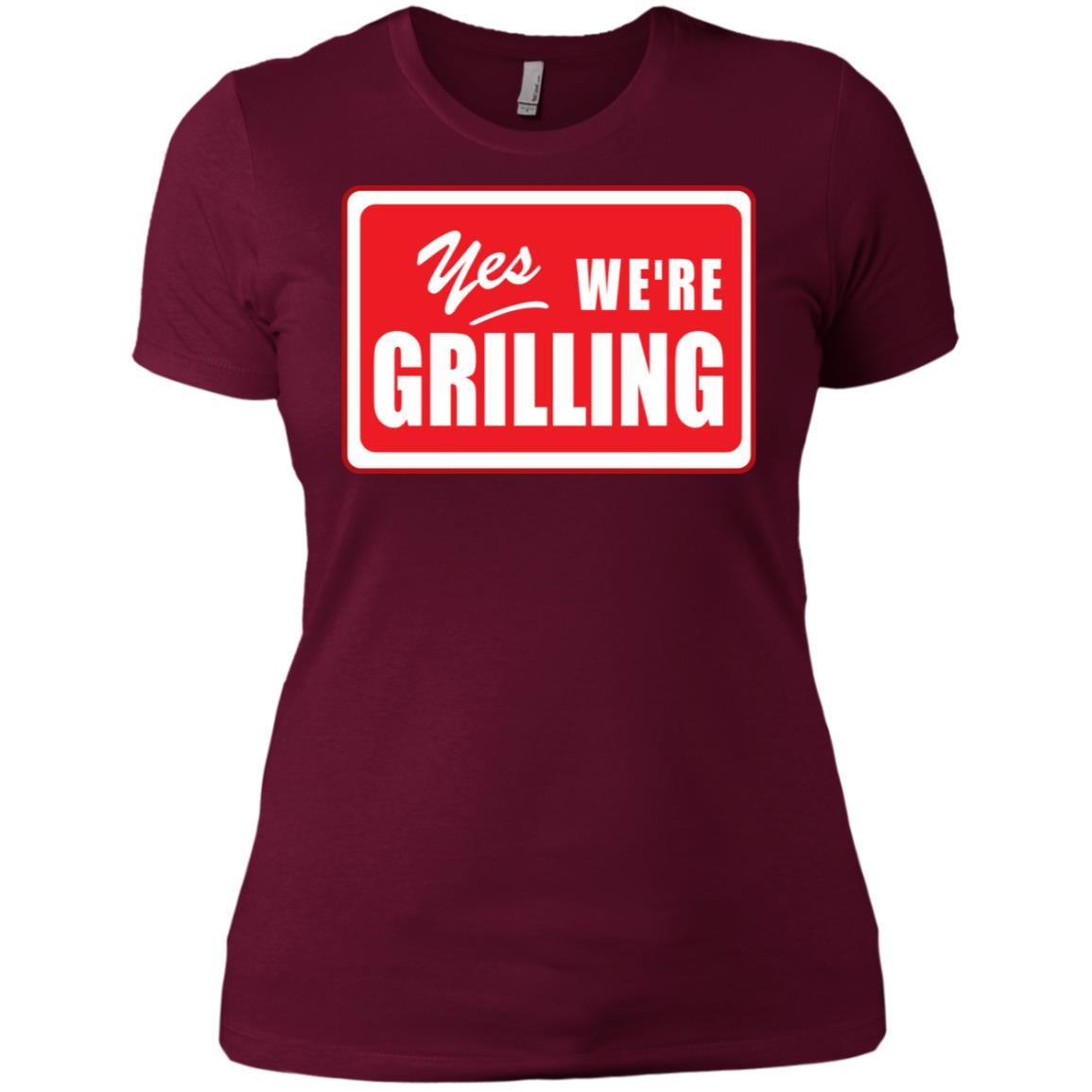 Bbq Grillings for chefs & cooks Women Short Sleeve