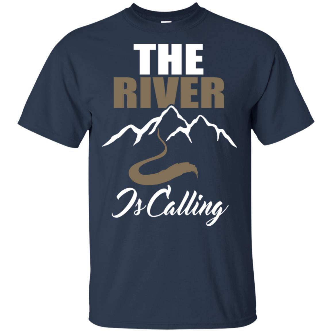 Canoeing River Rafting Outdoor -The River is calling-2 Unisex Short Sleeve
