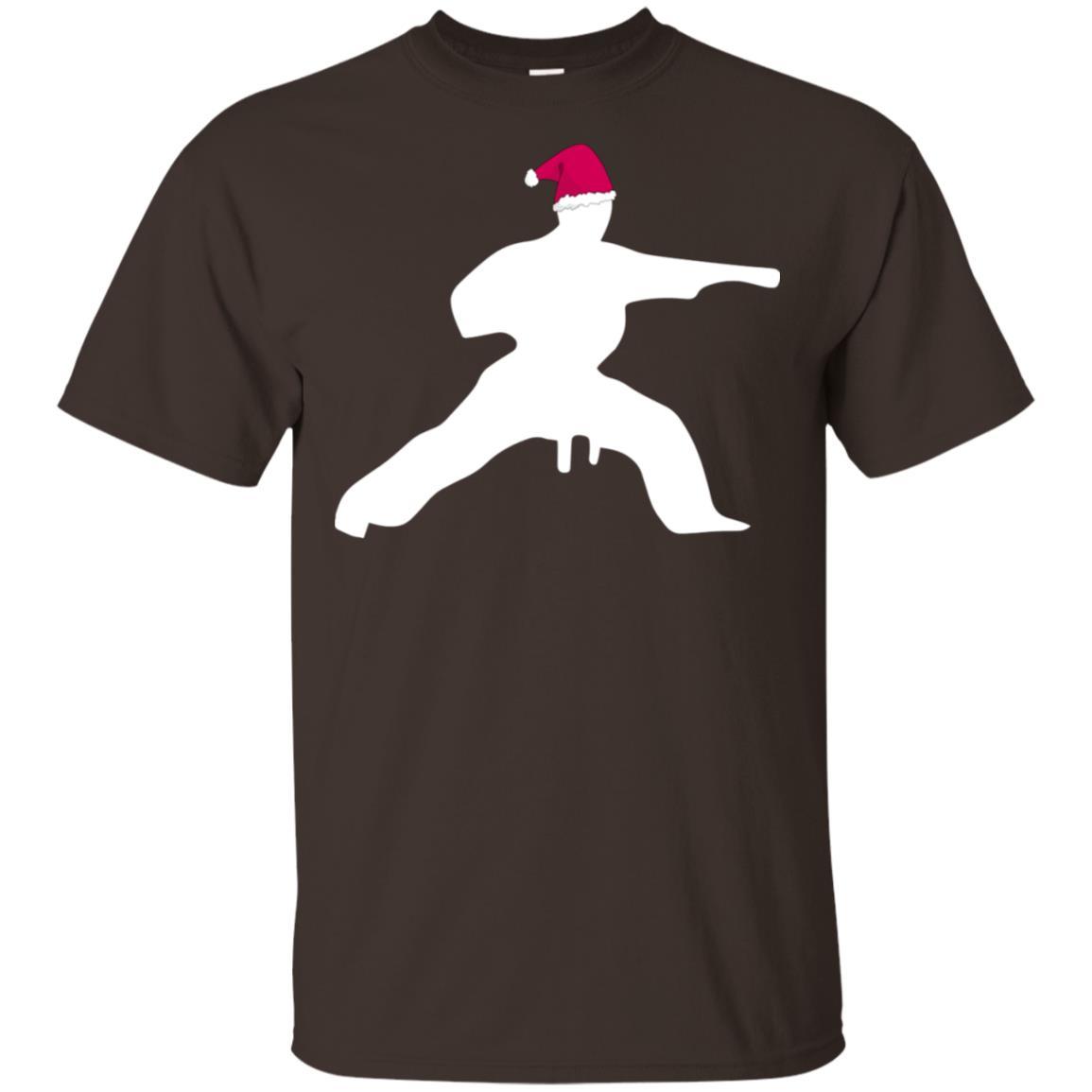 Christmas Karate Funny Xmas Gift Unisex Short Sleeve