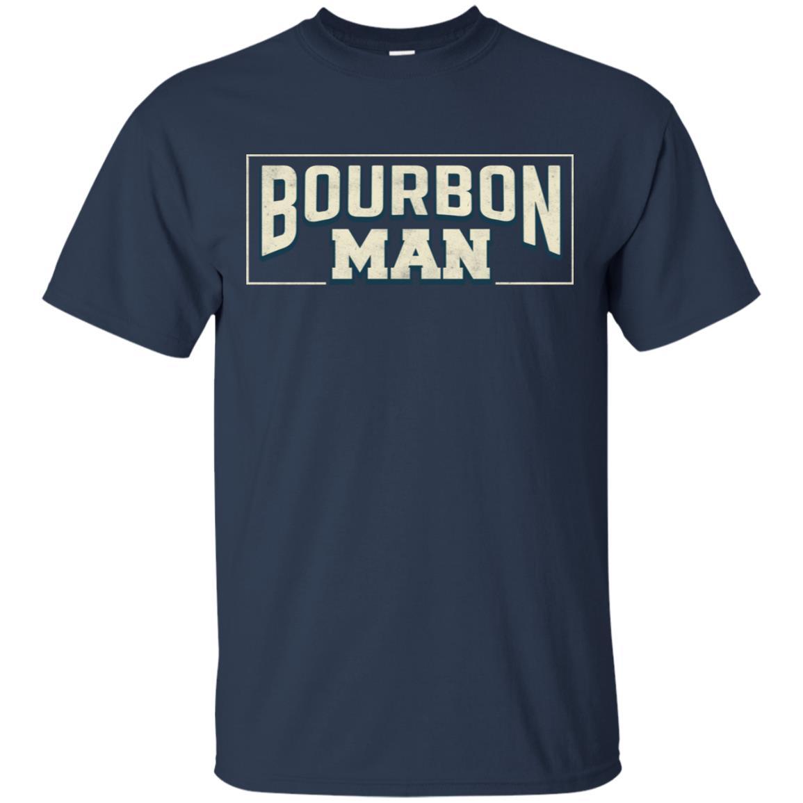 Bourbon Man Loves Bourbon Unisex Short Sleeve